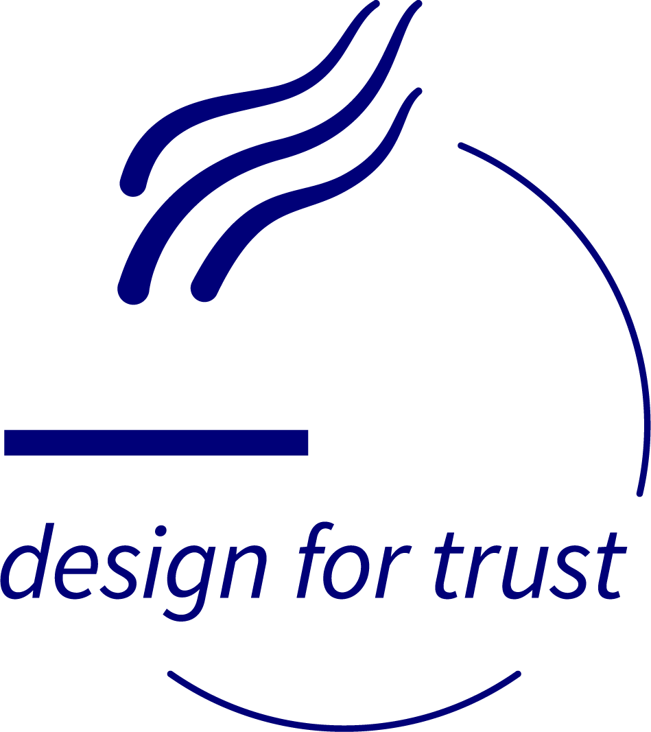 Logo design for trust